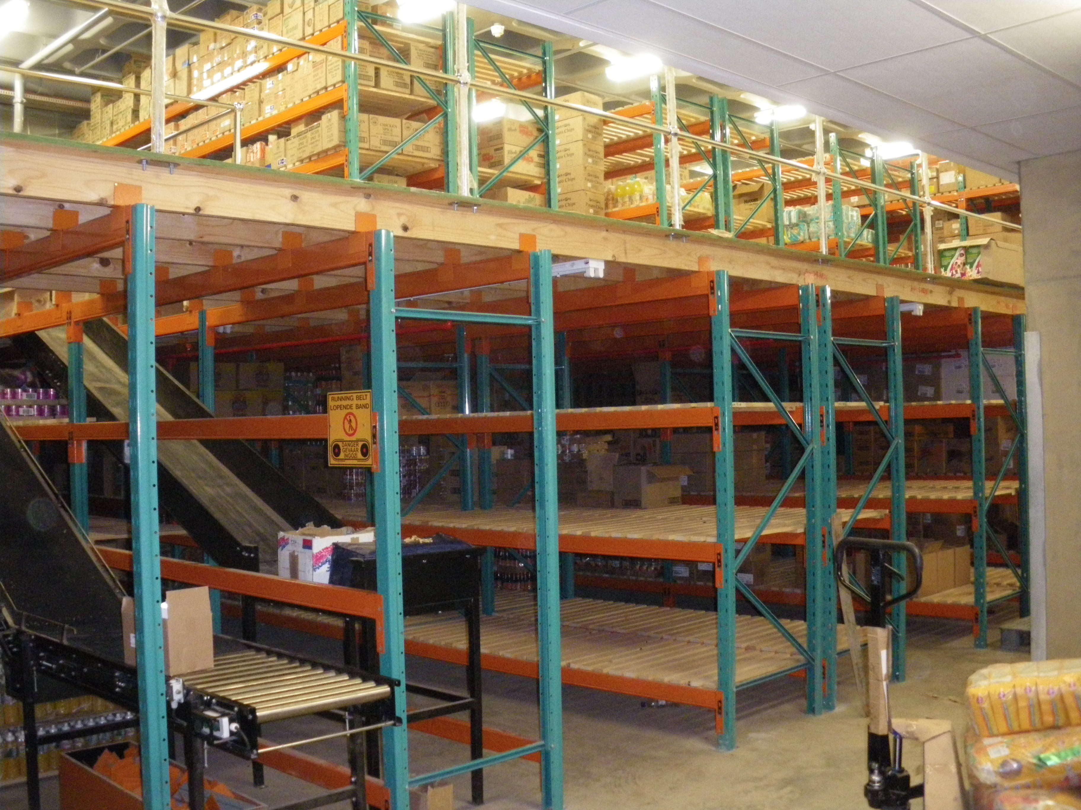 Rack Support Mezzanine Floors